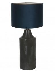 lampara de mesa diseno azul-9255ZW