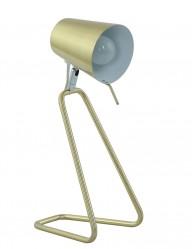 lampara de mesa dorada-7849GO