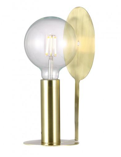 lampara de mesa dorada disc-2178ME
