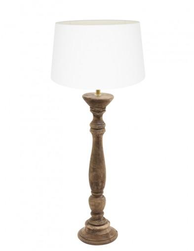 lampara de mesa en blanco bellini-9179BE
