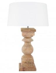 lampara de mesa en madera-9947BE
