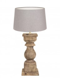 lampara de mesa en madera cadore-9180BE