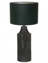lampara de mesa en verde-9254ZW