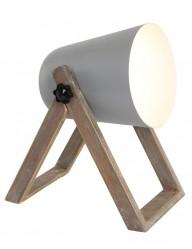 lampara de mesa escandinava gris-1642GR