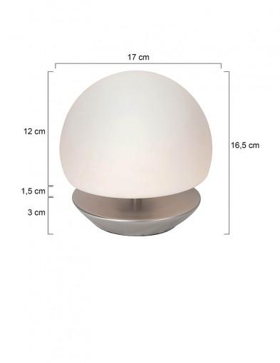 lampara-de-mesa-esferica-led-acero-7932ST-3