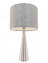 lampara de mesa gris-1057ST