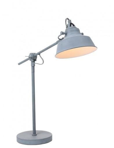 lampara de mesa gris-1321GR