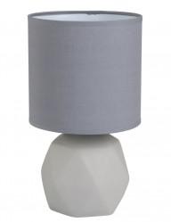 lampara de mesa gris moderna-1636GR