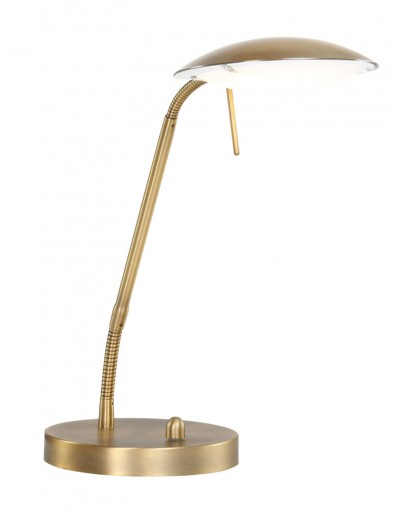 lampara de mesa led regulable bronce-1315BR
