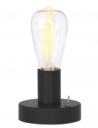 lampara de mesa minimalista negro-1720ZW