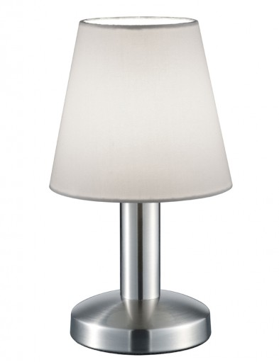 lampara de mesa moderna blanca-1825ST