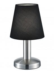 lampara de mesa moderna negra-1826ST
