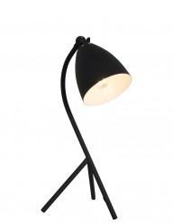 lampara de mesa negra de diseno-7676zw