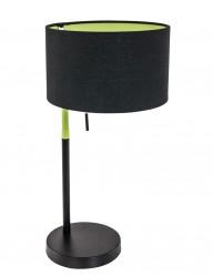 lampara de mesa negra diseno-1084ZW