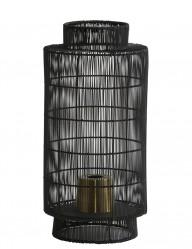 lampara de mesa negra diseno-1925ZW