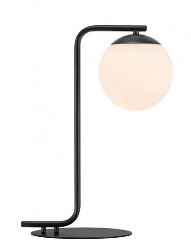 lampara de mesa negra grant-2406ZW