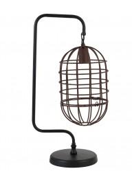 lampara de mesa negra industrial-1921ZW
