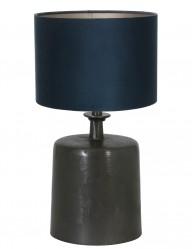 lampara de mesa pantalla azul-9264ZW
