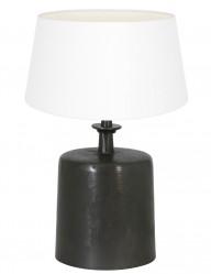lampara de mesa pantalla blanca-9265ZW