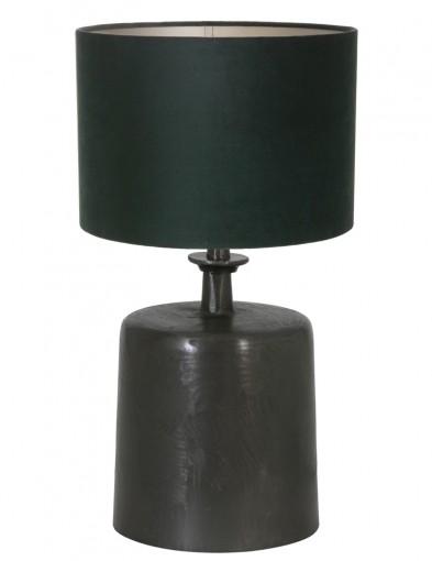lampara de mesa pantalla verde-9263ZW