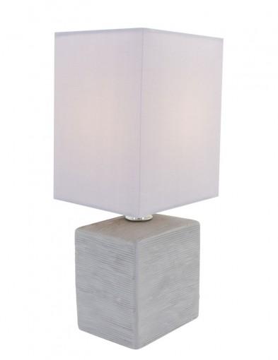 lampara de mesa rustica-1114GR