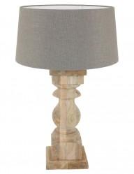 lampara de mesa rustica-9948BE