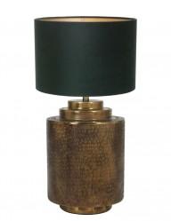 lampara de mesa rustica-9964BR