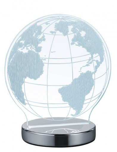 lampara de mesa transparente-1845CH