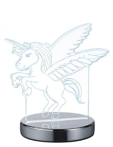 lampara de mesa unicornio-1847CH