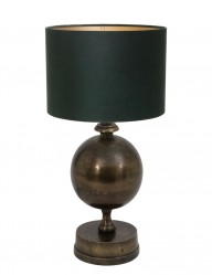 lampara de mesa verde-9961BR