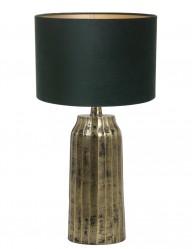 lampara de mesa verde Timi-9209GO