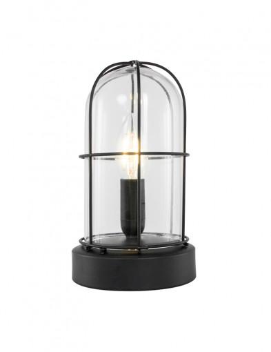 lampara de mesa vidrio transparente-1065ZW