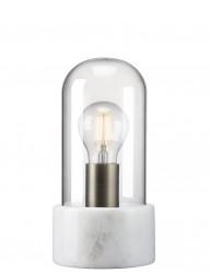 lampara de mesa vidrio y piedra-2378W