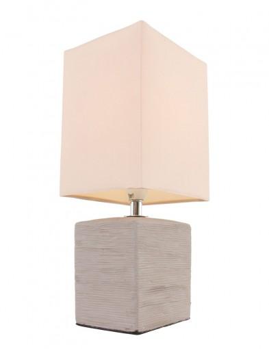 lampara de mesita de noche rustica-1114B