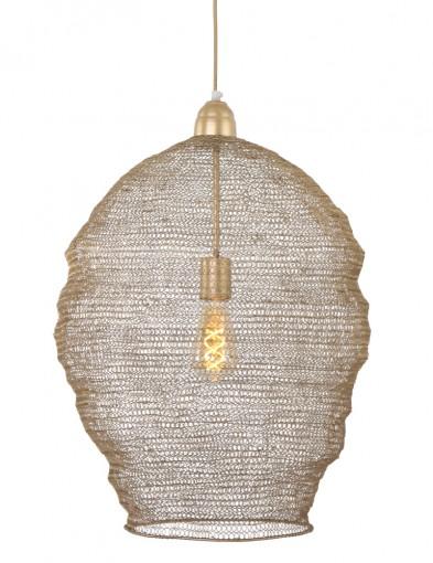 lampara de metal dorada-1378BR