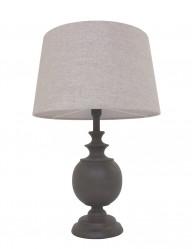 lampara de noche en madera y color blanco-1348B