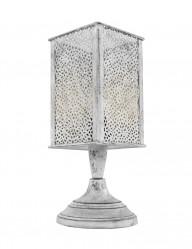 lampara de noche estilo oriental en gris-1070GR