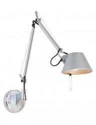 lampara de pared plateada-1303ST