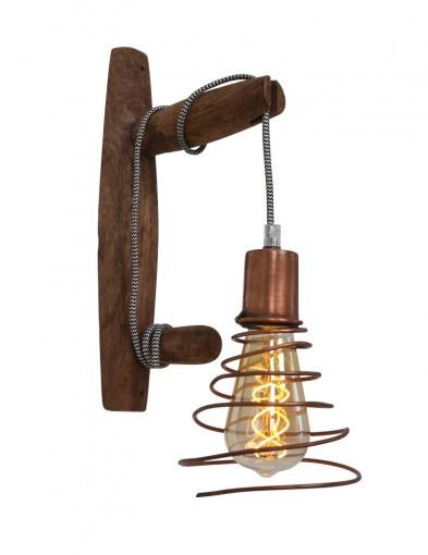 lampara de pared unica cobre-1400KO