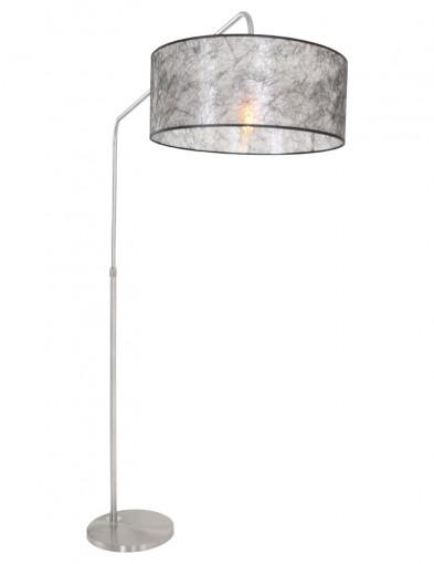 lampara de pie acero-9881ST
