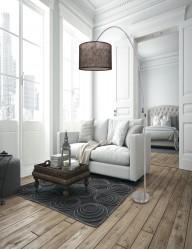 lampara de pie ajustable-9681ST