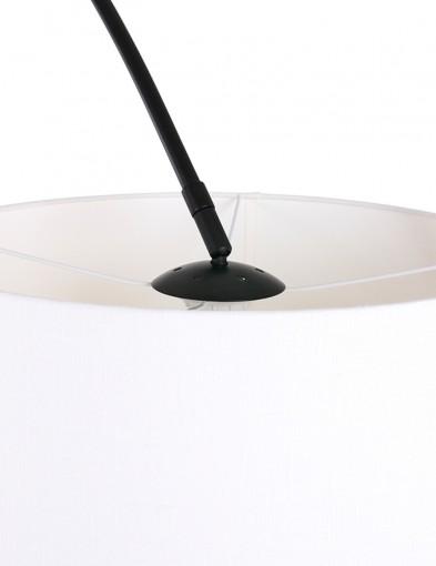 lampara-de-pie-blanca-arco-negro-9829ZW-1