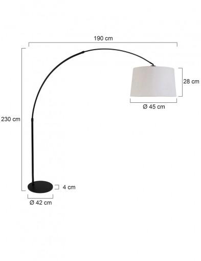 lampara-de-pie-blanca-arco-negro-9829ZW-6