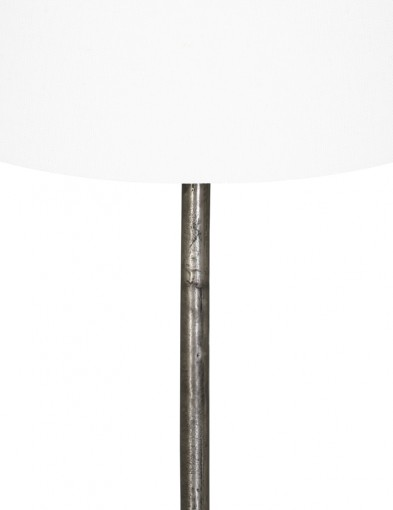 lampara-de-pie-blanca-con-base-de-metal-9301ZW-1