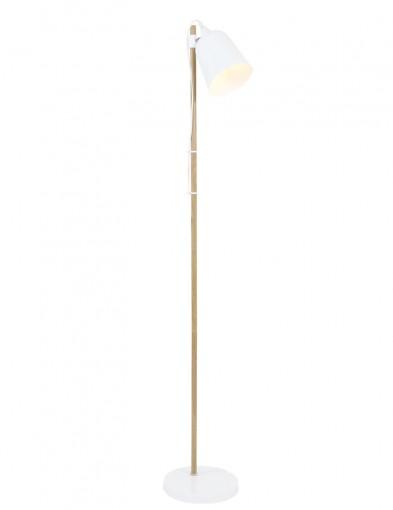 lampara de pie blanca nordica-7850W