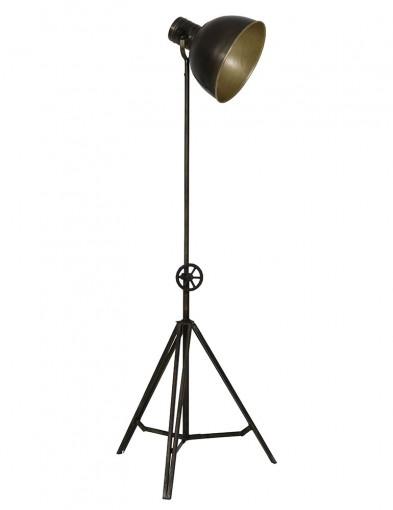 lampara de pie bronce con forma de tripode-1932BR