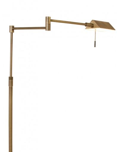 lampara de pie clasica led bronce-1486BR