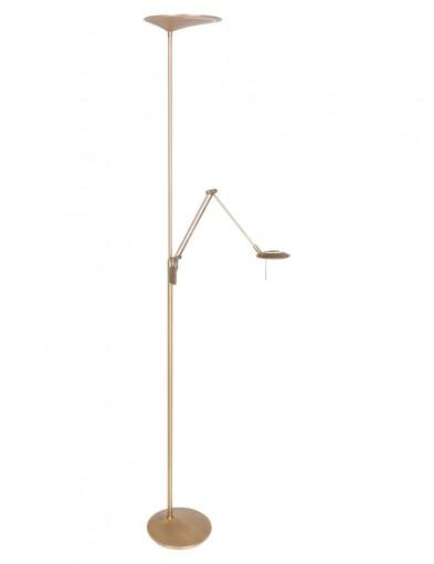 lampara de pie con luz de lecturaled-2107BR