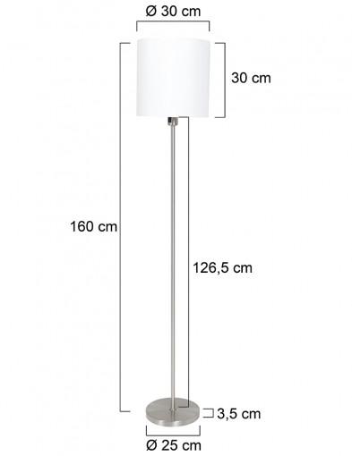 lampara-de-pie-con-pantalla-redonda-blanca-1564ST-7