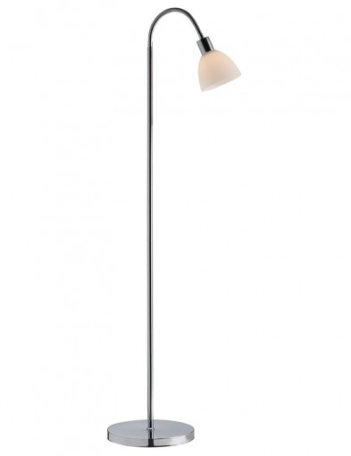 lampara de pie cromada-2354CH